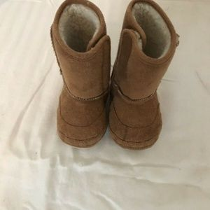 Other - Baby Tan Soft Sole Suede Boots SZ 6-12 M